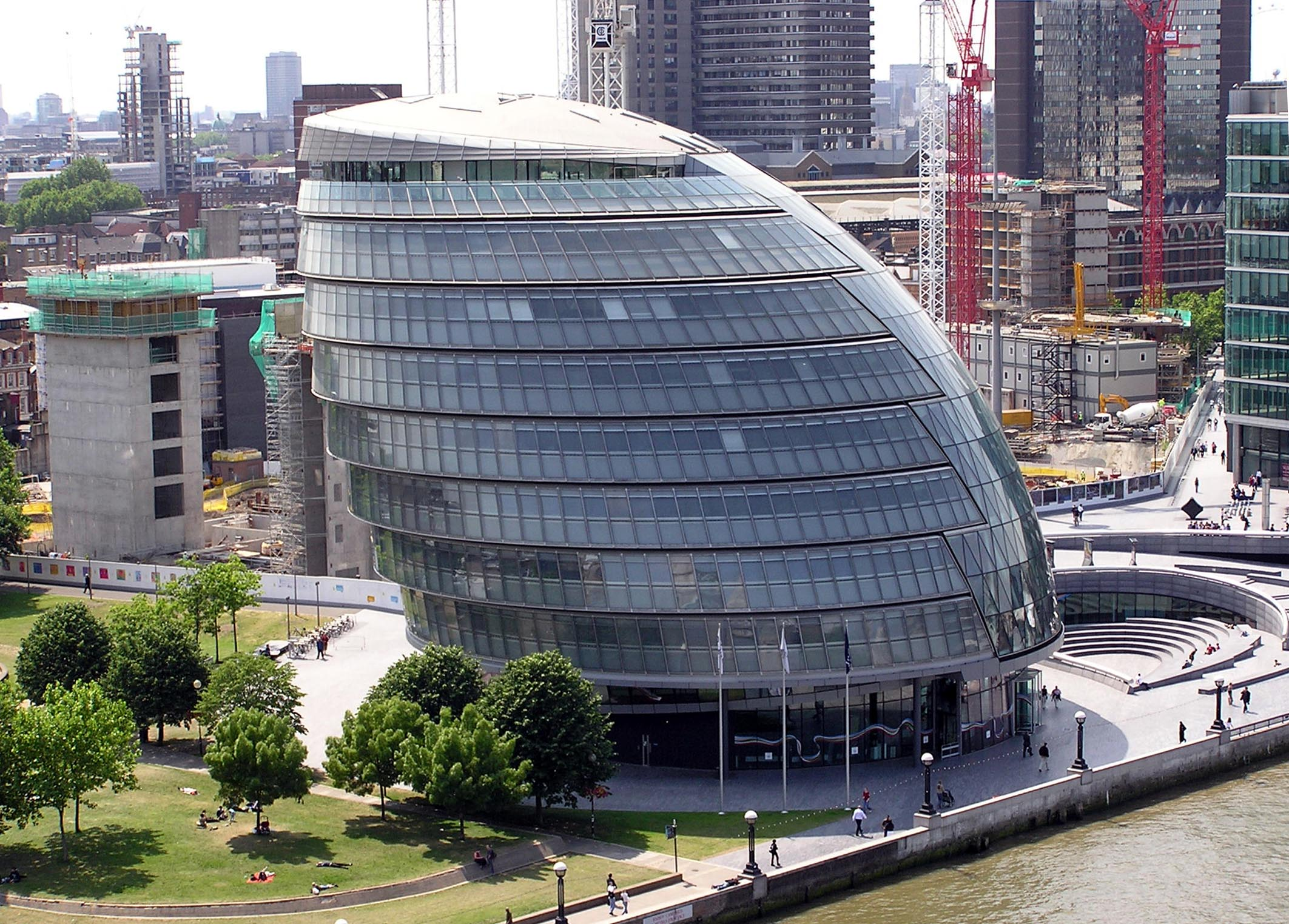 City Hall in London UK