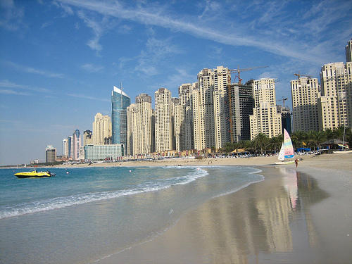 JBR Beach Dubai Overview