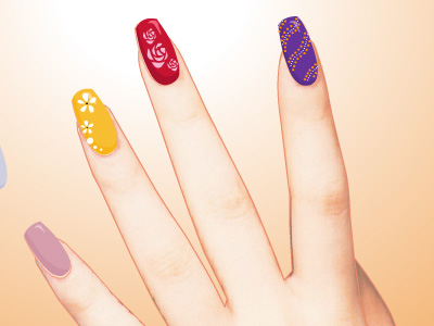 Nails for dressing up