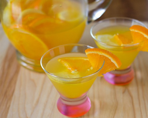 White Sangria Punch Recipe
