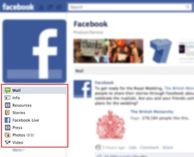 Facebook Custom Tabs