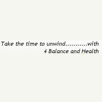 4 balance and health