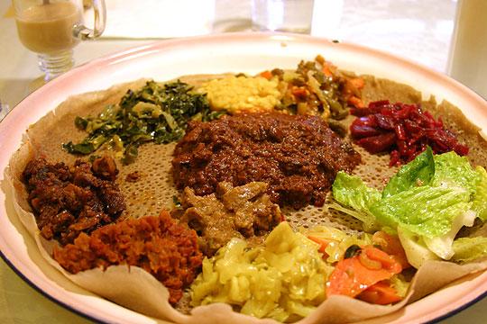 Ethiopian Restaurants in London