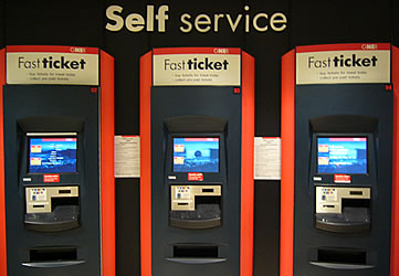 Fast-ticket machines