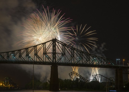 Fireworks Venues in Montreal
