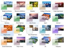 How to access Hidden windows 7 themes