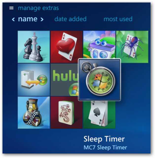 Windows 7 Media center extra libraries