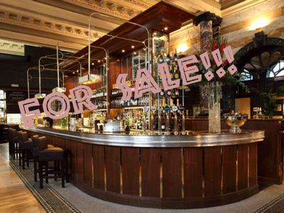 Selling pub and bar business in London