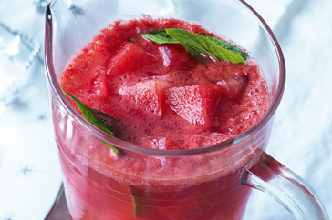 Watermelon, Ginger and Mint Punch
