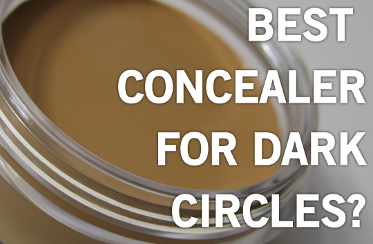 How to remove under eye dark circles using concealer