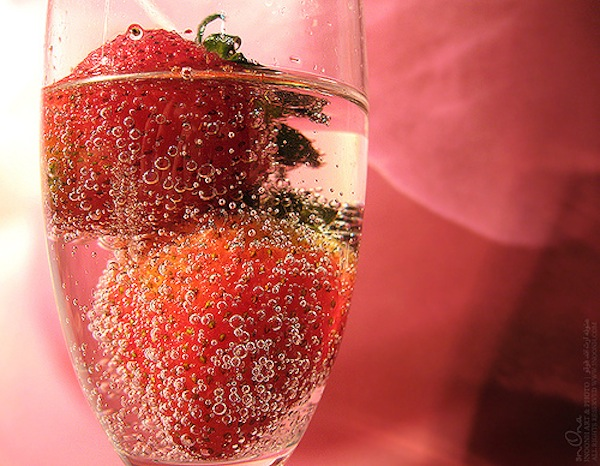 strawberry-champagne