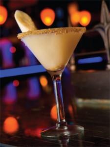 Banana Split Martini Cocktail