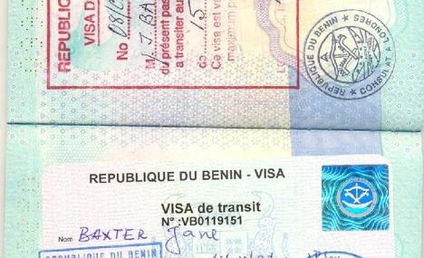 Benin Tourist Visas from London