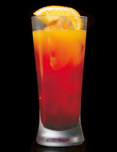 Blonde Orange with Peach and lime Recipe