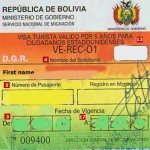 How to Get Bolivia Tourist Visit Visa from London
