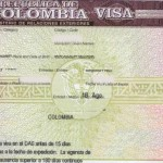 How to Get Colombia Tourist Visit Visa from London