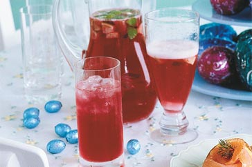 Cranberry and Lime Sparkler Cocktail Recipe