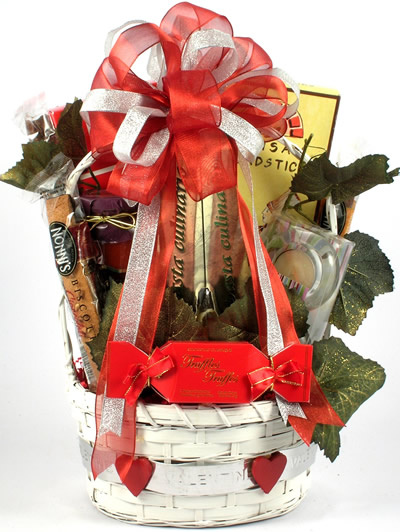How to Make Valentine Gift Baskets