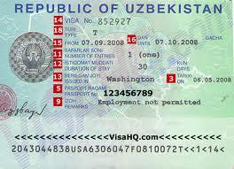 How to get Uzbekistan visa from London