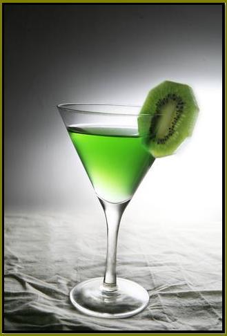 Kiwi martini cocktail recipe for Cocktail kiwi