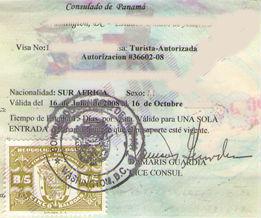 Panama Visa