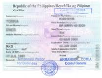 Philippines visa London