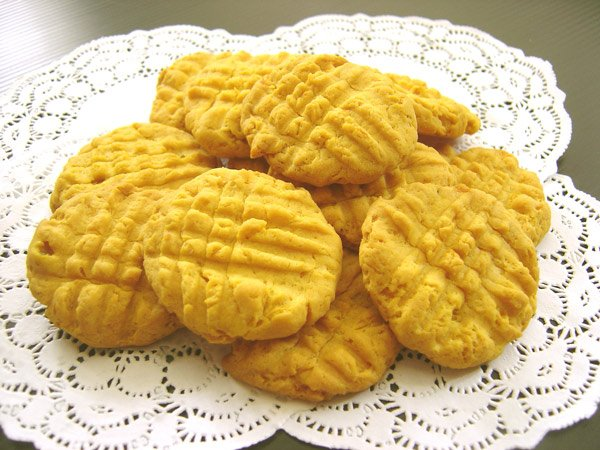 Pumpkin Cookies for Dogs