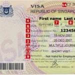 Singapore visit visa London