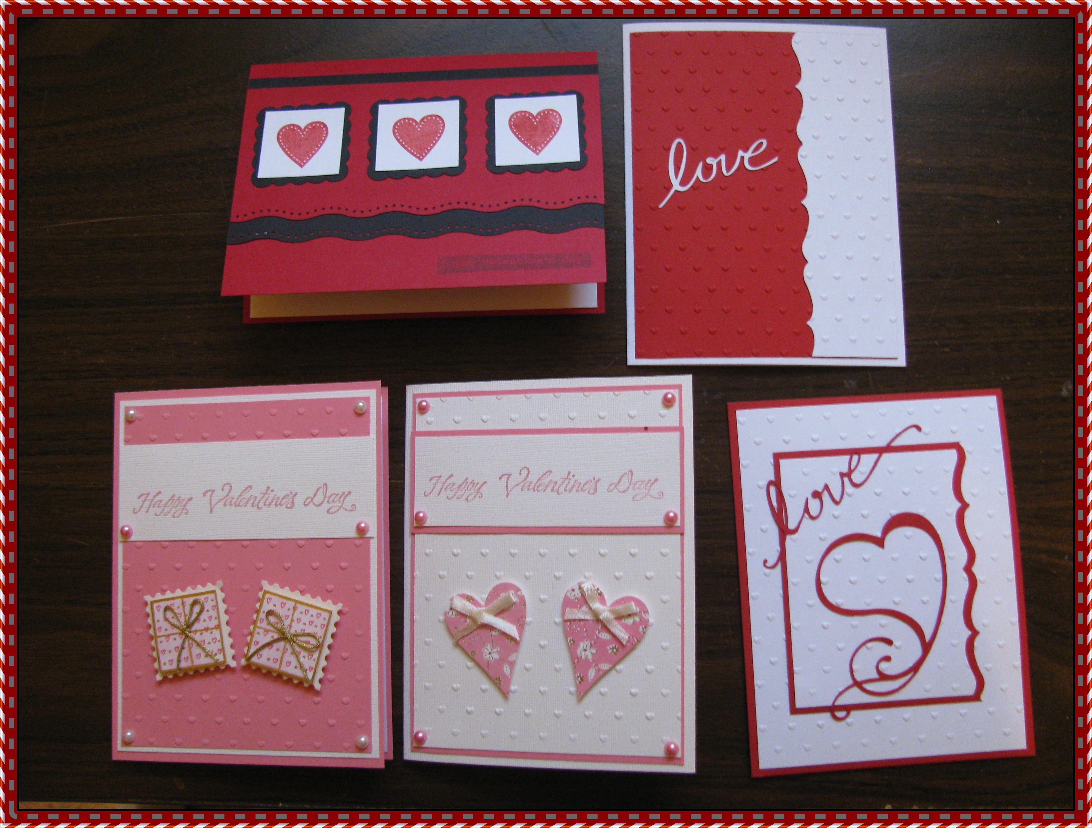 Step by Step How to Make Your Own Valentine's Day Cards
