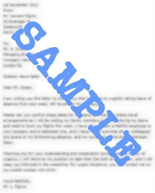 sample certificate vacation leave unique salary advance letter