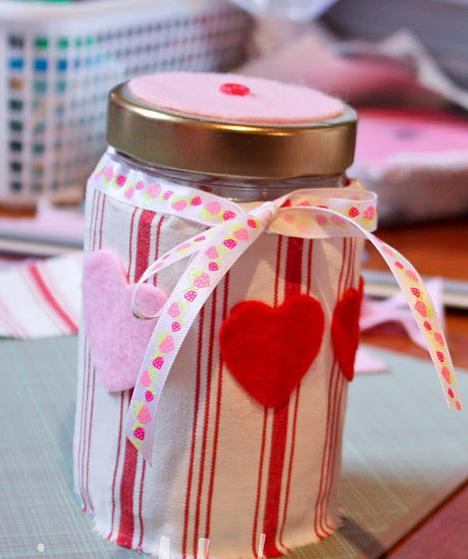 Valentine's Day Candy Jar for Children