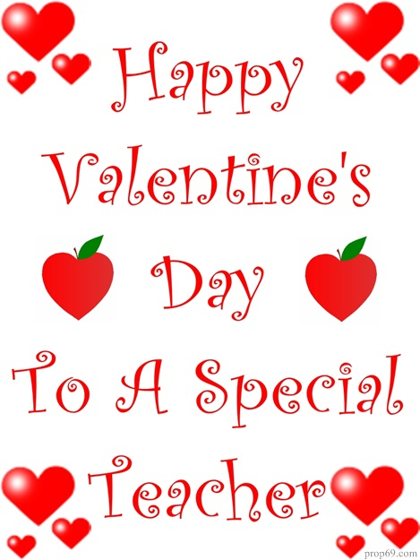 Valentine Ideas for Teachers