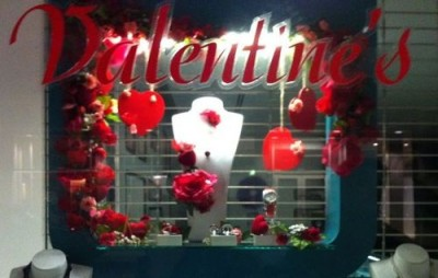 Valentine Window Display Ideas