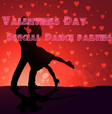 Valentine day Special Dance parties