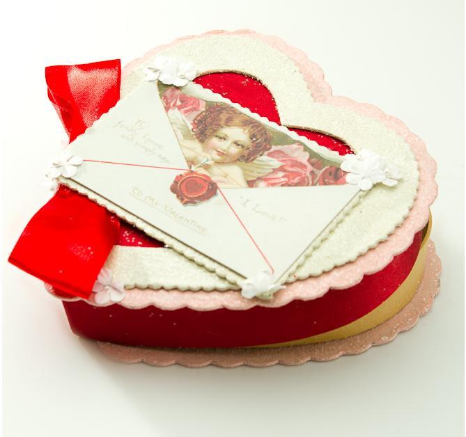 Victorian valentine boxes