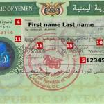 Yemen tourist visit visa from london