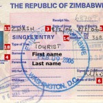 Zimbabwe Tourist Visa  from London