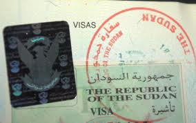 how to get Sudan visit visa from London