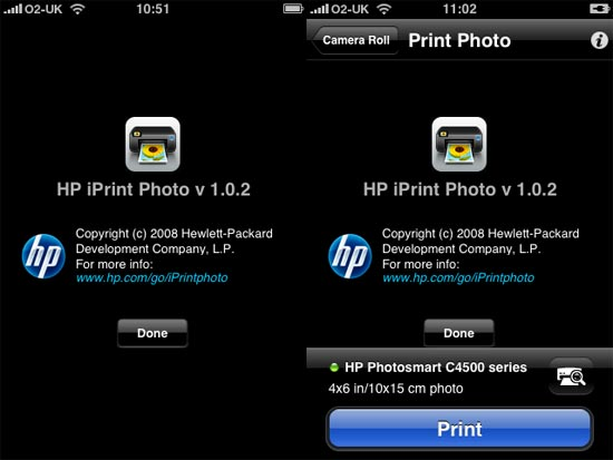 add printer to iphone how to add an hp printer in an iphone using hp iprint app 13366