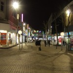late night shopping in London