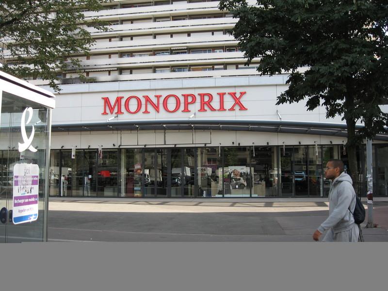 Monoprix Stores in Paris