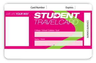 student travel card