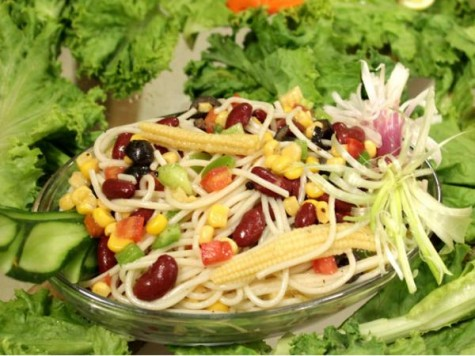 How to Make Noodles Salad
