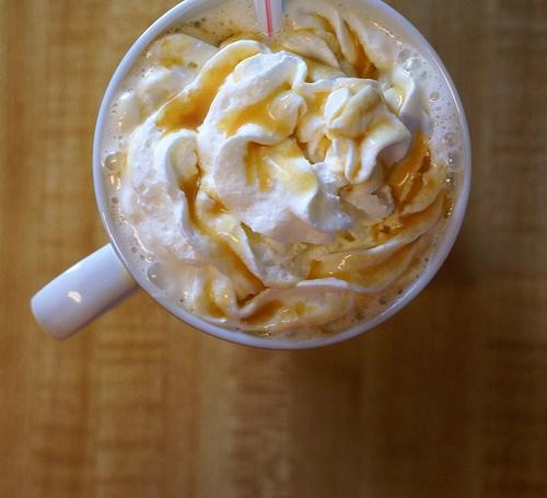 Iced Caramel Cold Coffee Recipe