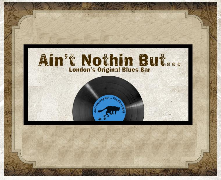 Ain t Nothin But Blues Bar Logo