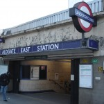 Aldgate East Tube Station