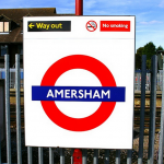 Amersham Station in London