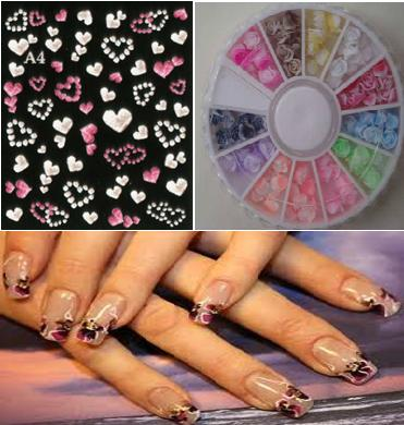 Rubber Nail Decals