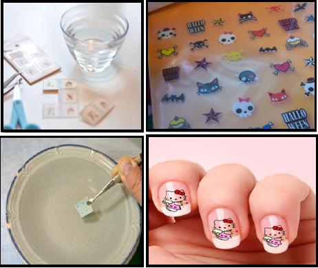 Water Set Nail Decals