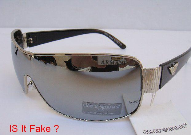 Fake Armani Eyeglass Frames : How to Spot a Fake Armani Sun Glasses
